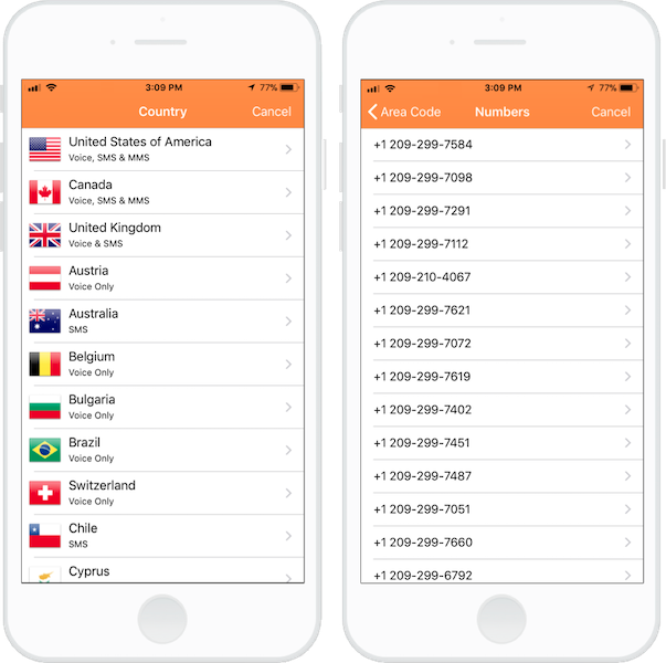 Buy US phone numbers easily with this INCREDIBLE virtual number app