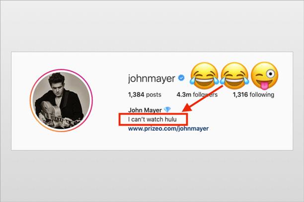 John Mayer Declares War with HULU (hilarious!)