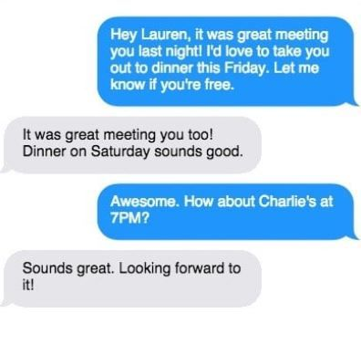 Girls phone numbers - how not to screw up that first text
