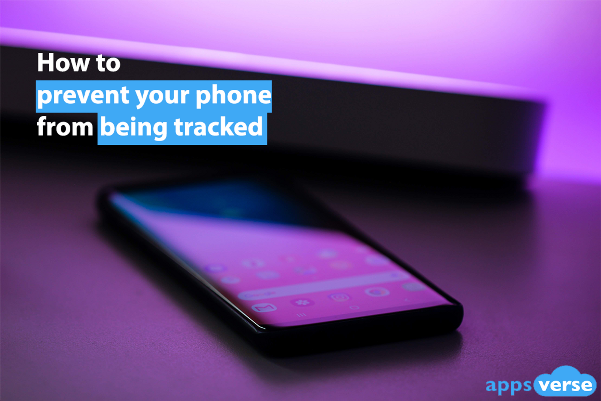 How to prevent your phone from being tracked