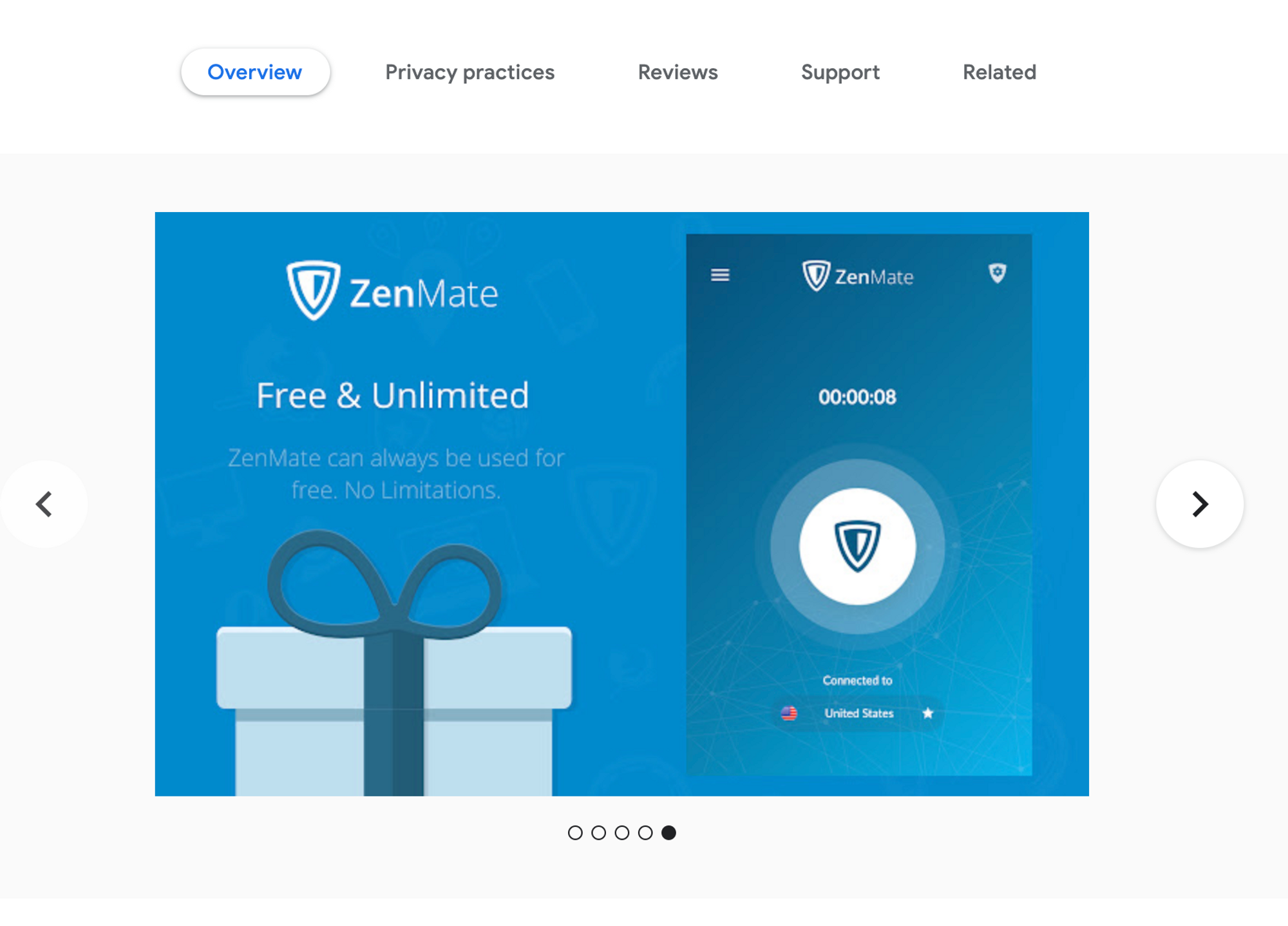 Zenmate for Google Chrome - Best VPN Alternatives Out There
