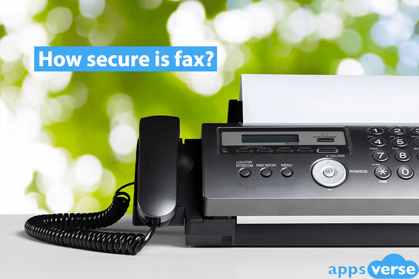 How secure is fax?