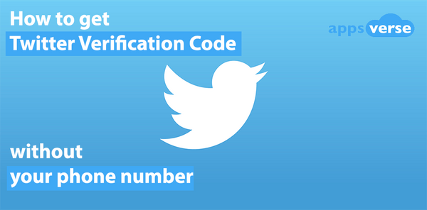 How to get Twitter verification code without your phone number
